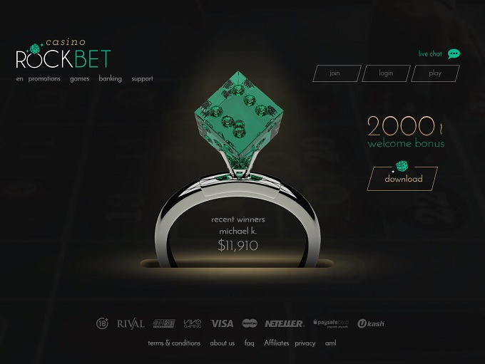 rockbet mobile casino login