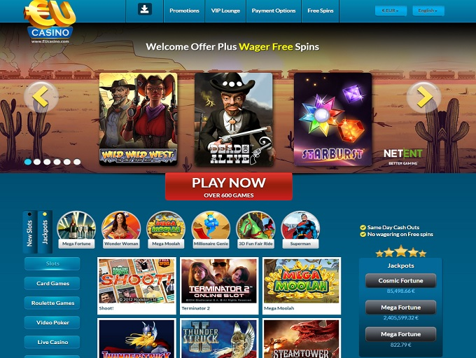 online casino eu game of ra