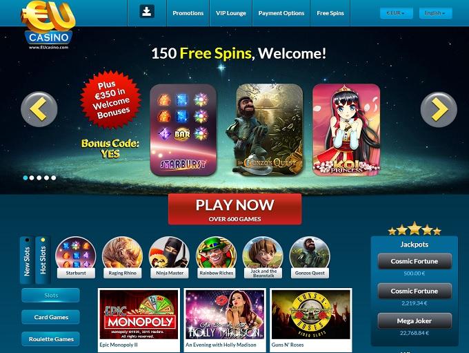 online casino eu sizzling free games