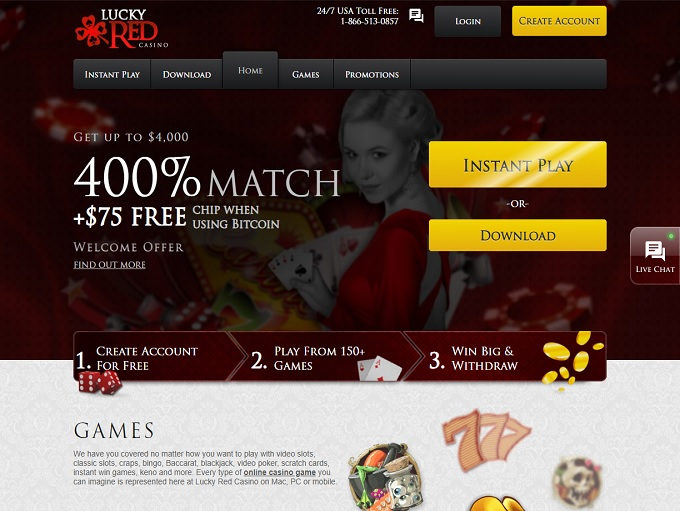 Lucky Red Online Casino Review