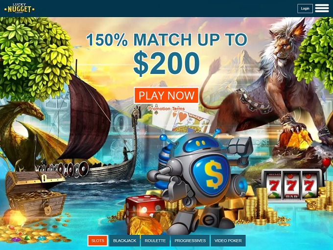 Lucky Nugget Online Casino Download