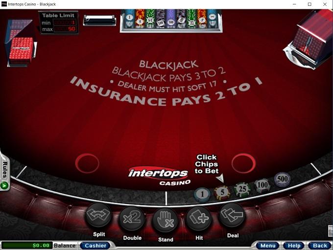 Intertops Online Casino