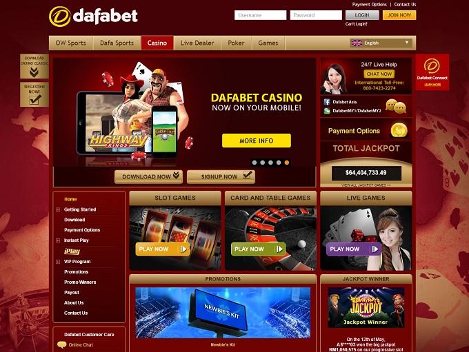 Dafabet Casino Review – Online Casino Reviews