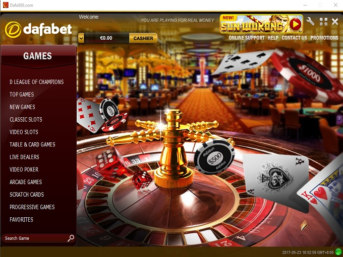What are the Terms to Understand to play on the Dafabet Casino?