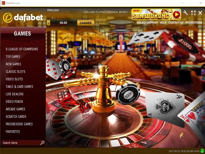 dafabet 888 casino