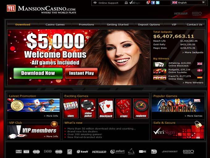 mansion online casino on line casino