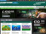 Paddy Power Casino Home Page