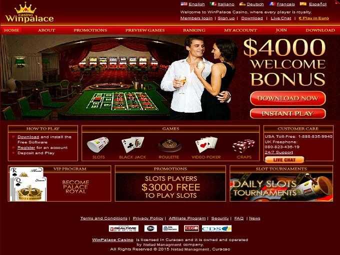 Win Palace Online Casino
