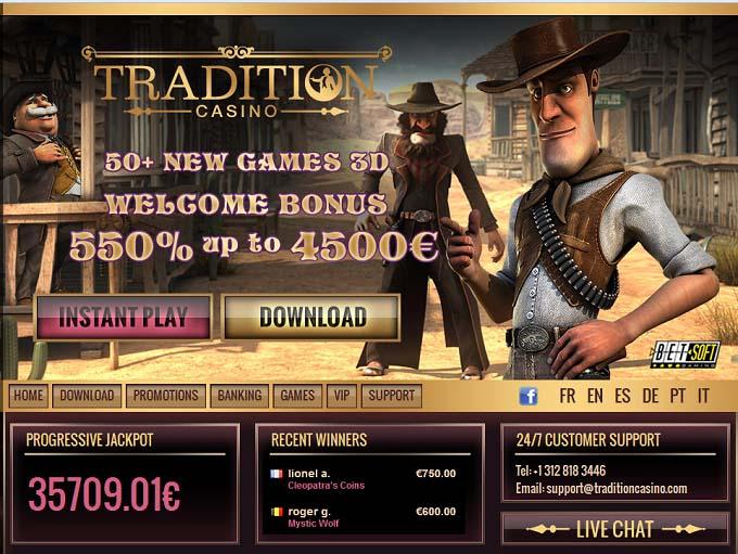 Tradion Casino
