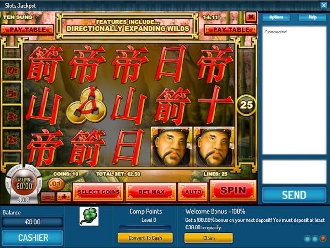 jackpot slots game online casino on line