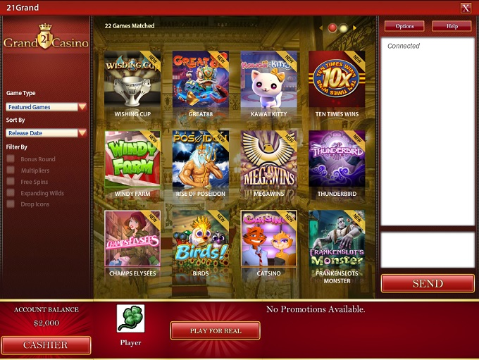 grand casino online games