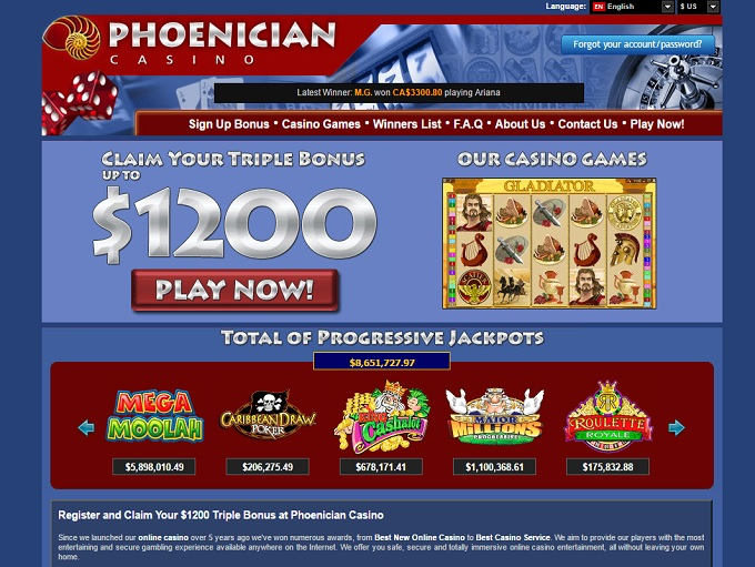 exclusive casino sign up bonus