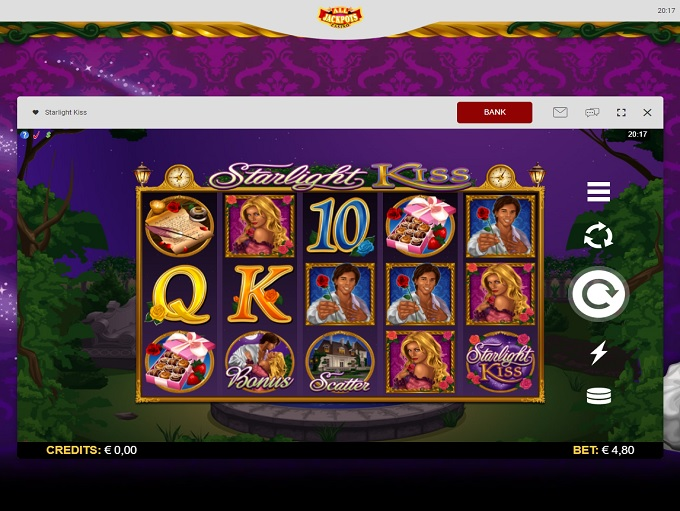 All jackpots casino login