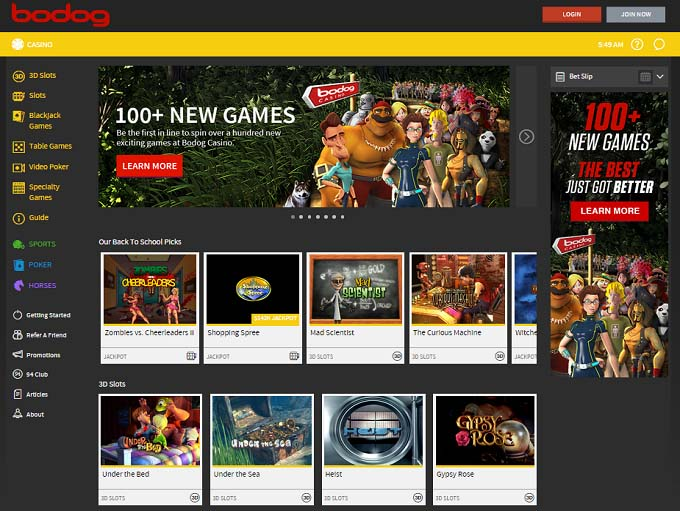 bodog net casino free games