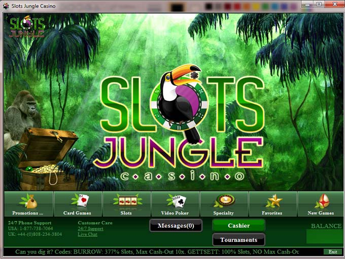 slots jungle games
