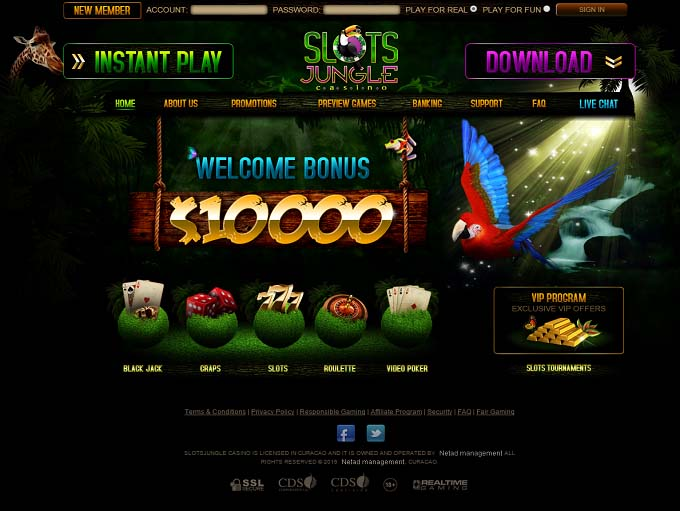 Play Jungle Giant Online Slots at Casino.com CA