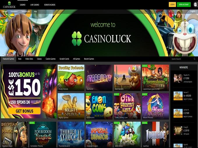 CasinoLuck Casino Review - CasinoLuck™ Slots & Bonus | http://www.casinoluck.com/