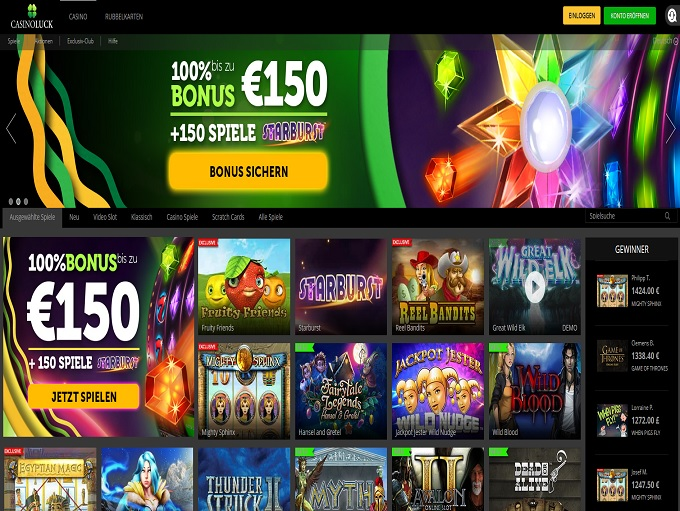 CasinoLuck Casino Review - CasinoLuck™ Slots & Bonus | http://www.casinoluck.com/
