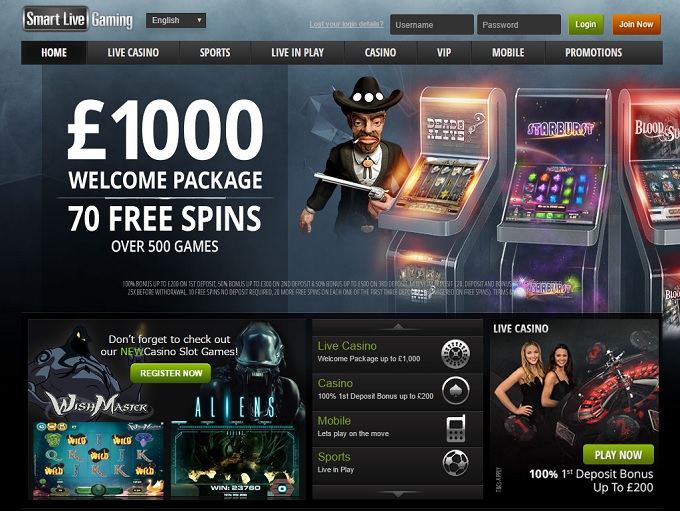 Smart Live Gaming Casino