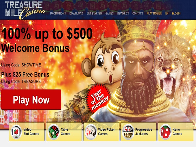 Treasure Mile Casino Review – Is this A Scam/Site to Avoid