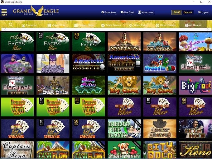 Grand Eagle Casino Grand Eagle Casino Bonus Codes