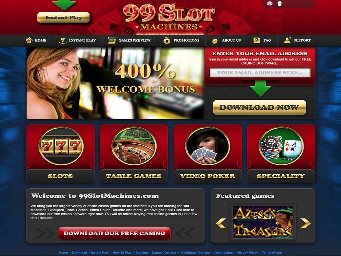 99 Slot Machines No Deposit Bonus Codes