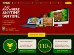 3Dice Casino Home Page