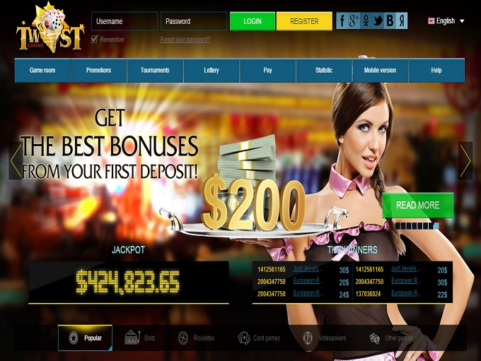 new online casino twist game casino