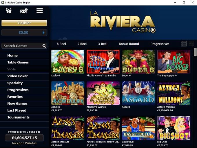 Casino la riviera login