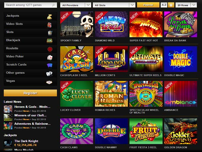 online casino game videoslots