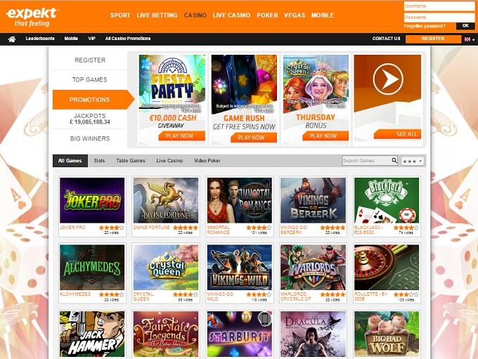 expekt casino review