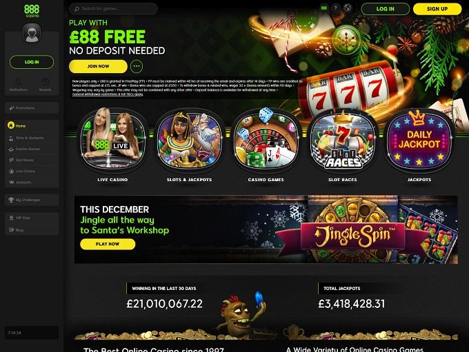 888 Casino Bonus Wagering Requirements