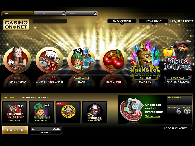 casino on net 888 free games