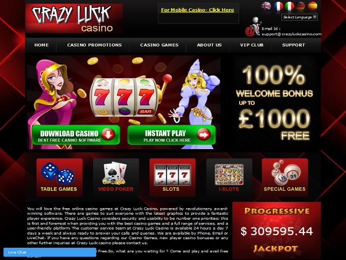 Crazyluck Casino