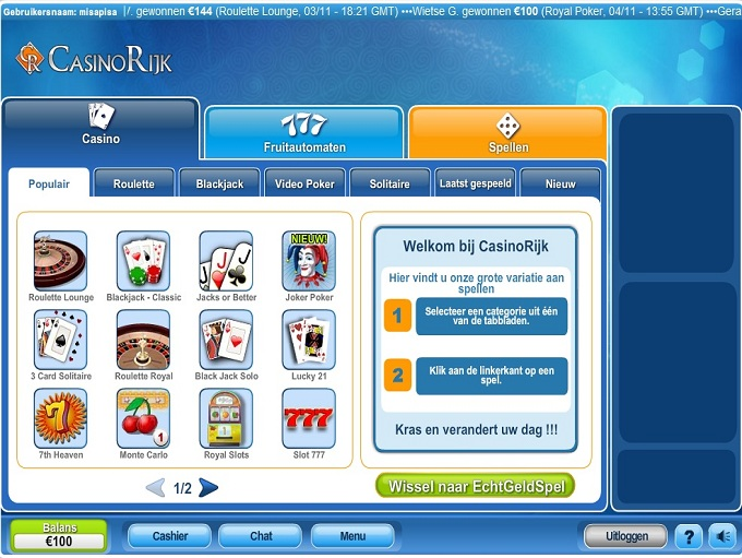 Casino Rijk Review