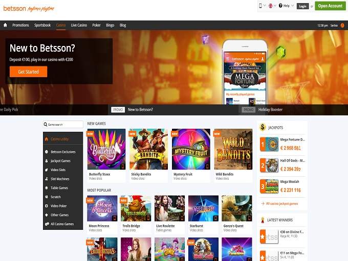 Online Casino BetГџon