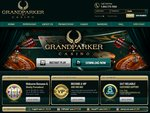 Grand Parker Casino Home Page