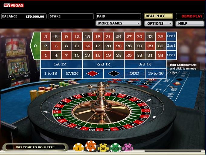 Sky gambling games