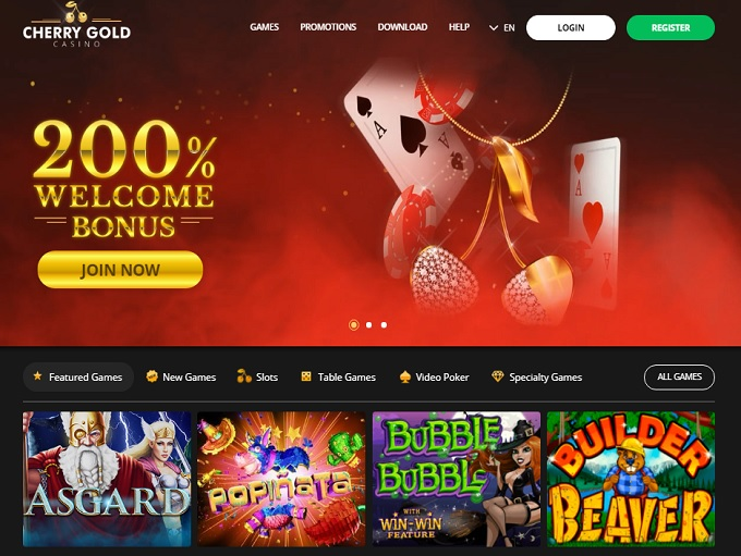 cherry gold casino reviews