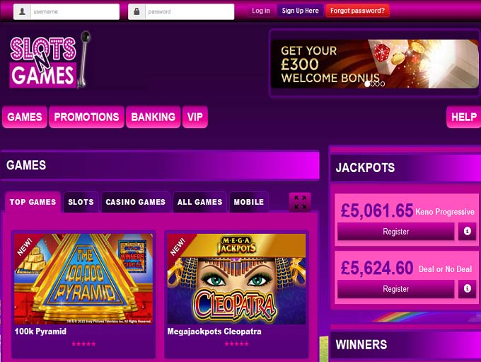 casino online test slots n games