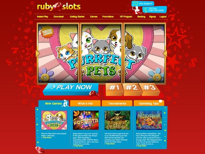 Ruby slots casino no deposit