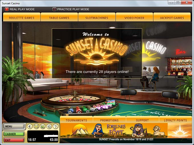 Sunset Casino Online