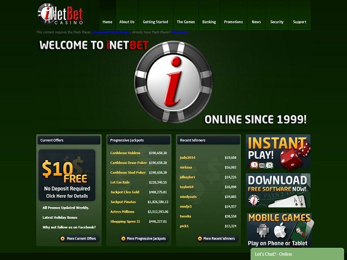Us Based Online Casino