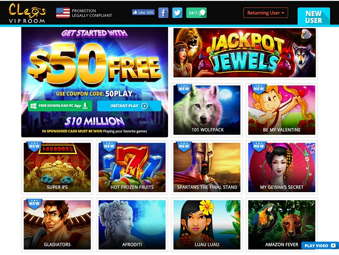 Cleos Vip Room Casino Promo Codes