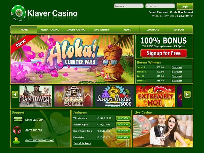 Klaver Casino Review