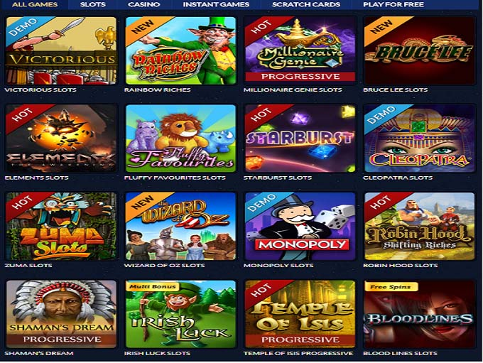 casino games net