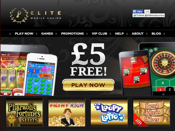 Elite Mobile Casino Review