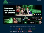 LotosCasino Home Page