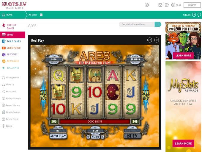 Online Slots Lv