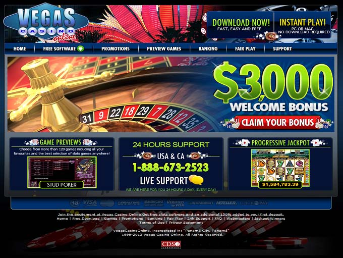 online vegas casino hot casino